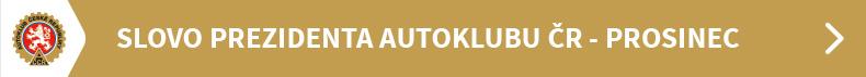 Slovo prezidenta Autoklubu ČR