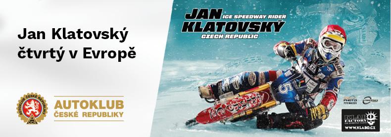 Jan Klatovský čtvrtý v Evropě