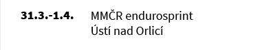 MMČR endurosprint Úsj nad Orlicí