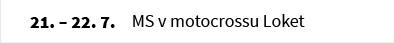 MS v motocrossu Loket