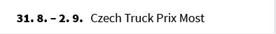 Czech Truck Prix Most
