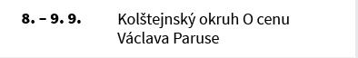 Kolštejnský okruh O cenu Václava Paruse