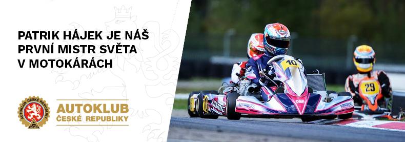 Patrik Hájek je náš první mistr světa v motokárách