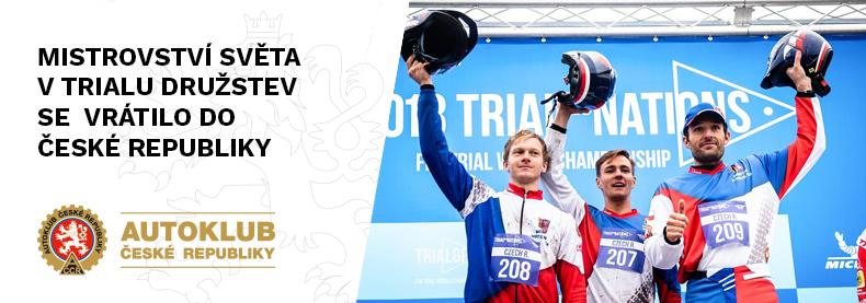 Mistrovství světa v trialu družstev se vrátolo do České republiky