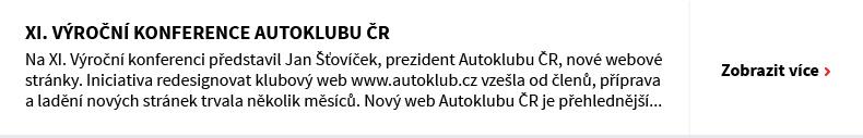 XI. Výroční konference Autoklubu ČR