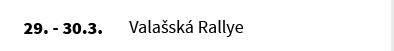 Valašská Rallye