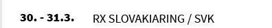 RX SLOVAKIARING / SVK