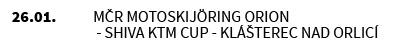 MČR MOTOSKIJÖRING Orion - Shiva KTM Cup - Klášterec nad Orlicí