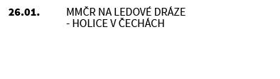 MMČR na ledové dráze - Holice v Čechách