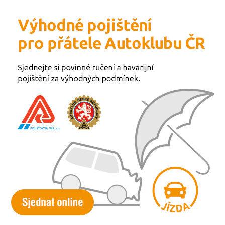 Výhodné pojištění pro přátele AČR