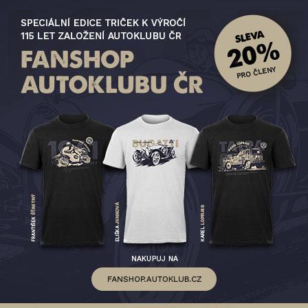 Fanshop Autoklubu ČR