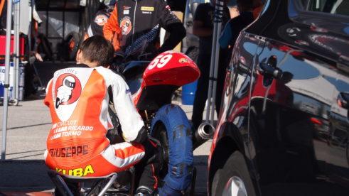 Štěpán Zuda a Jakub Gurecký po závodech v Jerezu