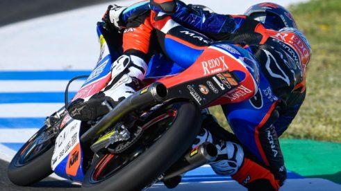 Filip Salač po prvních trénincích Grand Prix Španělska