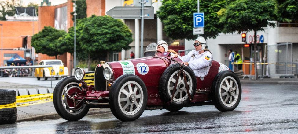GRAND PRIX historických automobilů ve Zlíně