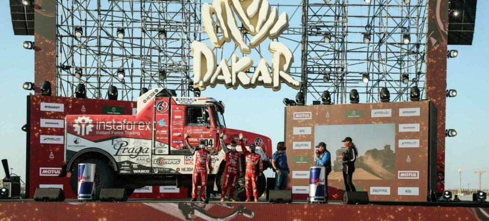 Páté místo pro Aleše Lopraise na Dakaru 2021