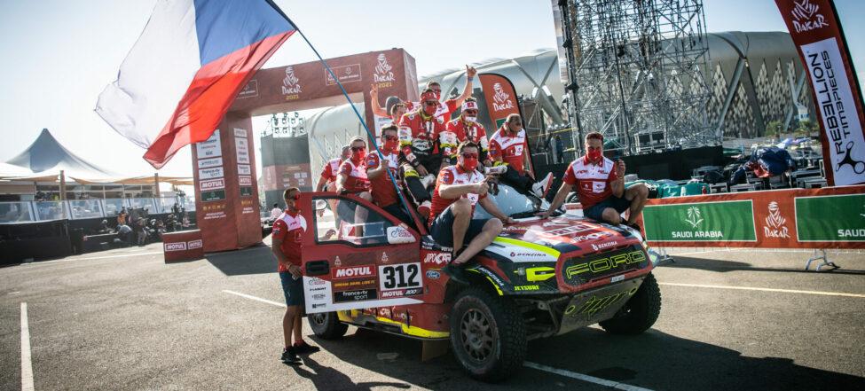 Prokop s Chytkou vezou z Dakaru 2021 deváté místo