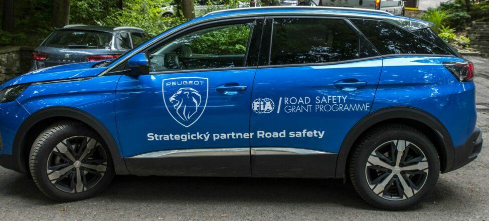 Peugeot strategickým partnerem Road Safety