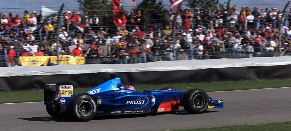 Enge opět za volantem F1!