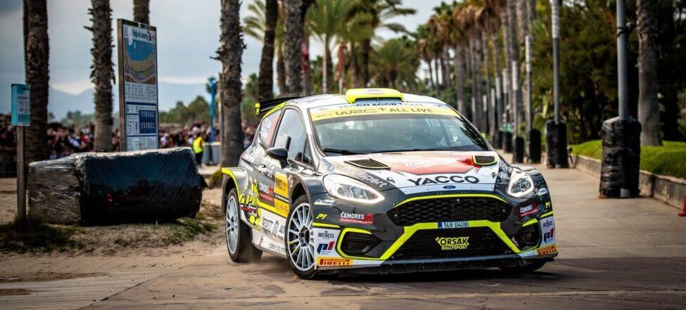 Podařená premiéra Erika Caise ve WRC2