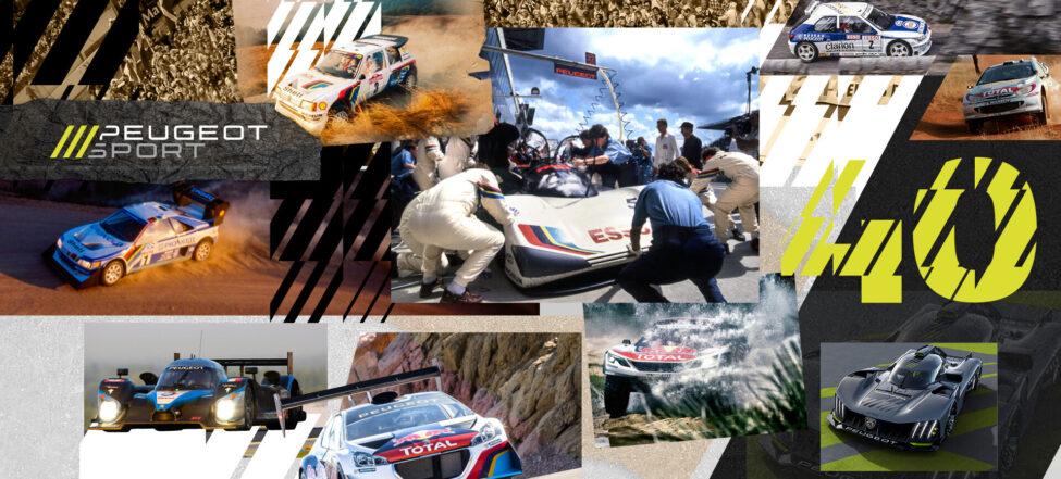 Peugeot Sport slaví 40 let inovací a úspěchů